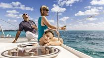 Private Tour: Catamaran Sailing and Snorkeling in Isla Mujeres, Cancun, Swim with Dolphins