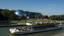 2.5 Hours Saint-Martin Canal Cruise Morning Tour: from Bassin de la Villette to the Marina Arsenal  ...