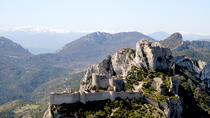 35 Minutes Cathar Castles Tour by Helicopter, Perpignan