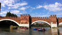 Rafting in Verona on the river Adige, Verona