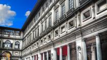 Tour privado: Galería de los Uffizi y aperitivo happy hour, Florence, Skip-the-Line Tours