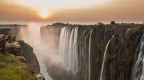 Sunrise Cycle and Guided Walk at Victoria Falls, Livingstone, Helicopter Tours