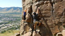 Learn to Rock Climb at North Table Mountain, Denver, Climbing