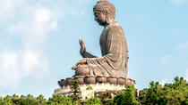 Coach Day Tour - Lantau Island Visiting and Giant Buddha Cable Car Tour Plus Tai O Boat Ride, Hong ...