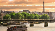 Bateaux Parisiens Dinner Cruise on the Seine, Paris, Night Cruises