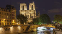 Paris by Night: Dinner at Les Ombres, Seine River Sightseeing Cruise and Cabaret Show, Paris