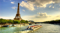 Seine River Cruise, Paris Illuminations and Dinner on the Champs-Elysees, Paris, Private Tours