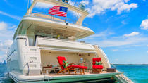 Luxury 100-foot Yacht Rental with Jetski, Miami, Custom Private Tours