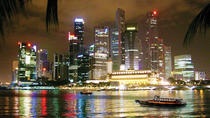 Singapore Night Tour: Gardens By the Bay, Marina Bay Sands SkyPark and River Cruise, Singapore, ...