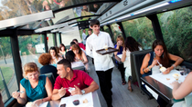 Barcelona Gourmet Tapas Dinner in einem Luxus-Bus mit Glasdecke, Barcelona, Food Tours