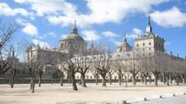 El Escorial Monastery and the Valley of the Fallen from Madrid, Madrid