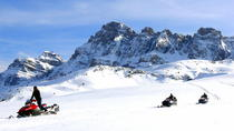 Snowmobile Long Ride on the Pyrenees, Aragón, null