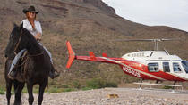 Helicopter Tour of the Grand Canyon West Rim with Horseback Ride, Grand Canyon National Park, ...