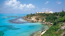 Isla Mujeres Garrafon Park with Optional Dolphin Swim or Encounter and Airport Transfer, Cancun,...