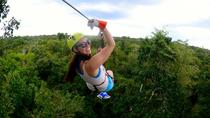 Zipline and Adventure Tour in Cancun with Round-Trip Transfer, Cancun, Ziplines