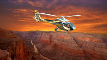 Lyxig helikoptertur till Grand Canyon West Rim i solnedgången, Las Vegas, Helicopter Tours