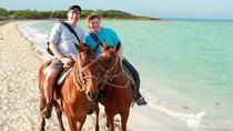 Horseback Riding in St Lucia to Cas en Bas Beach, St Lucia, Ports of Call Tours