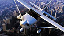 Los Angeles Shore Excursion: Pre- or Post-Cruise Deluxe Champagne Airplane Tour , Los Angeles, ...