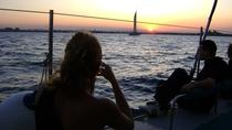 Malaga Sunset Cruise with Champagne and Restaurant Dinner