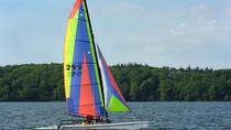 Hobie Catamaran Rental on Lake Travis in Austin, Austin, Self-guided Tours & Rentals