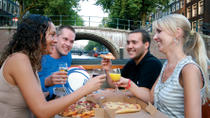 Grachten-Bootsfahrt mit Pizzaessen in Amsterdam, Amsterdam, Night Cruises