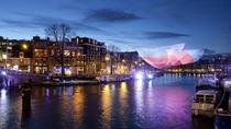 Holiday Canal Cruise: Amsterdam Light Festival from a Glass-Topped Canal Barge, Amsterdam, null