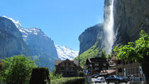 6-Hour Guided e-bike tour to Lauterbrunnen Valley Waterfalls and Swiss Picnic, Interlaken