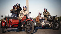 Retro Tour Paris - Sidecar Tours, Paris, Motorcycle Tours