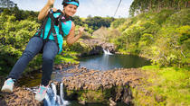 9-Line Zip-N-Dip Experience, Big Island of Hawaii, Ziplines