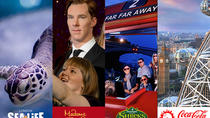 BIG London Attraction Ticket Including Madame Tussauds, SEA LIFE Aquarium, London Eye and Shrek's ...