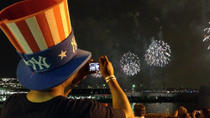 4th of July Fireworks Viewing Party on New York City's Hudson River Pier , New York City, National ...