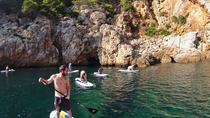 SUP and Cliff Jumping in Alcúdia, Mallorca, Stand Up Paddleboarding