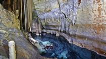 Swimming and Caving in Cova des Coloms, Mallorca, Adrenaline & Extreme