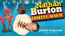 Nathan Burton Comedy Magic at Planet Hollywood Resort and Casino, Las Vegas, Family Friendly Tours...