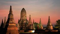 Day Tour to Temples of Ayutthaya by River Cruise and include Buffet Lunch, Central Thailand, Day ...