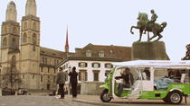 Zurich and Surroundings City Tour by Electric Tuk Tuk, Zurich, Private Sightseeing Tours