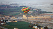 Hot Air Balloon Flight Over Luxor West Bank and Nile River, Luxor, null