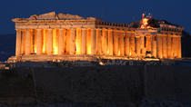 Athens Night Sightseeing Tour with Greek Dinner Show, Athens