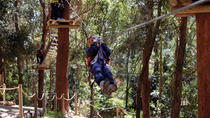 Currumbin Wildlife Sanctuary: Green Challenge Zipline Canopy Tour, Gold Coast, Adrenaline & Extreme