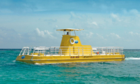 Excursión de buceo de superficie y submarino en Cancún, Cancun, Submarine Tours