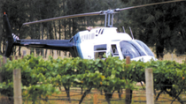 Lunsjutflukt med helikopter til Hunter Valley, Sydney, Helicopter Tours