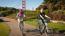 San Francisco Evening Bike Tour Including Golden Gate Bridge, San Francisco, Hiking & Camping