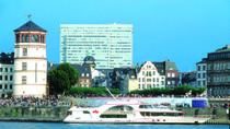 Düsseldorf Hop-On Hop-Off Bus Tour and Rhine River Sightseeing Cruise, Dusseldorf, Hop-on ...