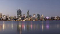 Crucero con cena Perth City of Lights, Perth