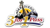 San Diego 3-for-1 Pass: SeaWorld, San Diego Zoo and Safari Park, San Diego