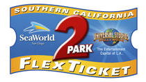 Southern California 2-Park Flex Ticket: SeaWorld and Universal Studios Hollywood, San Diego