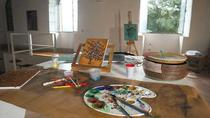 Art Workshops: Painting on Canvas in a Typical Florentine 'Bottega', Florence, Literary, Art &...
