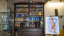 Art Workshops: Painting Watercolour Postcards in a Typical Florentine 'Bottega', Florence, ...