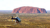 Ayers Rock Helicopter Tour to Uluru, Kata Tjuta & Lake Amadeus: 55-minute flight, Ayers Rock