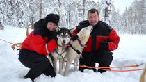 4-Day Private Winter Husky Tour for Two in Kuhmo, Eastern Finland